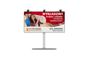 billboard linofloor