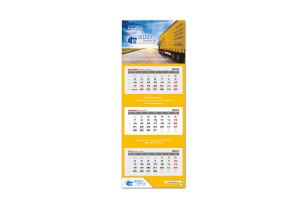 kalendarz trójdzielny Bilbin Transport 2015