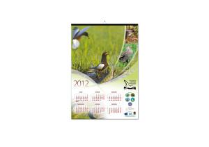 kalendarz plakatowy polskie ostoje ptaków
