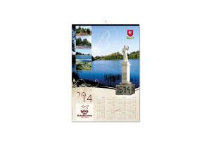 kalendarz plakatowy 500 lat bakałarzewa