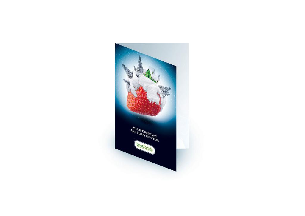 kartka bożonarodzeniowa bestfood