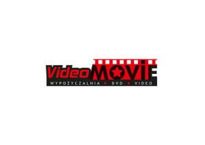 Projekt logo wypożyczalni kaset Video Movie